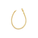 Load image into Gallery viewer, Curb Chain Bracelet - Gold Vermeil