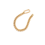 Load image into Gallery viewer, Heavyweight Curb Bracelet - Gold Vermeil