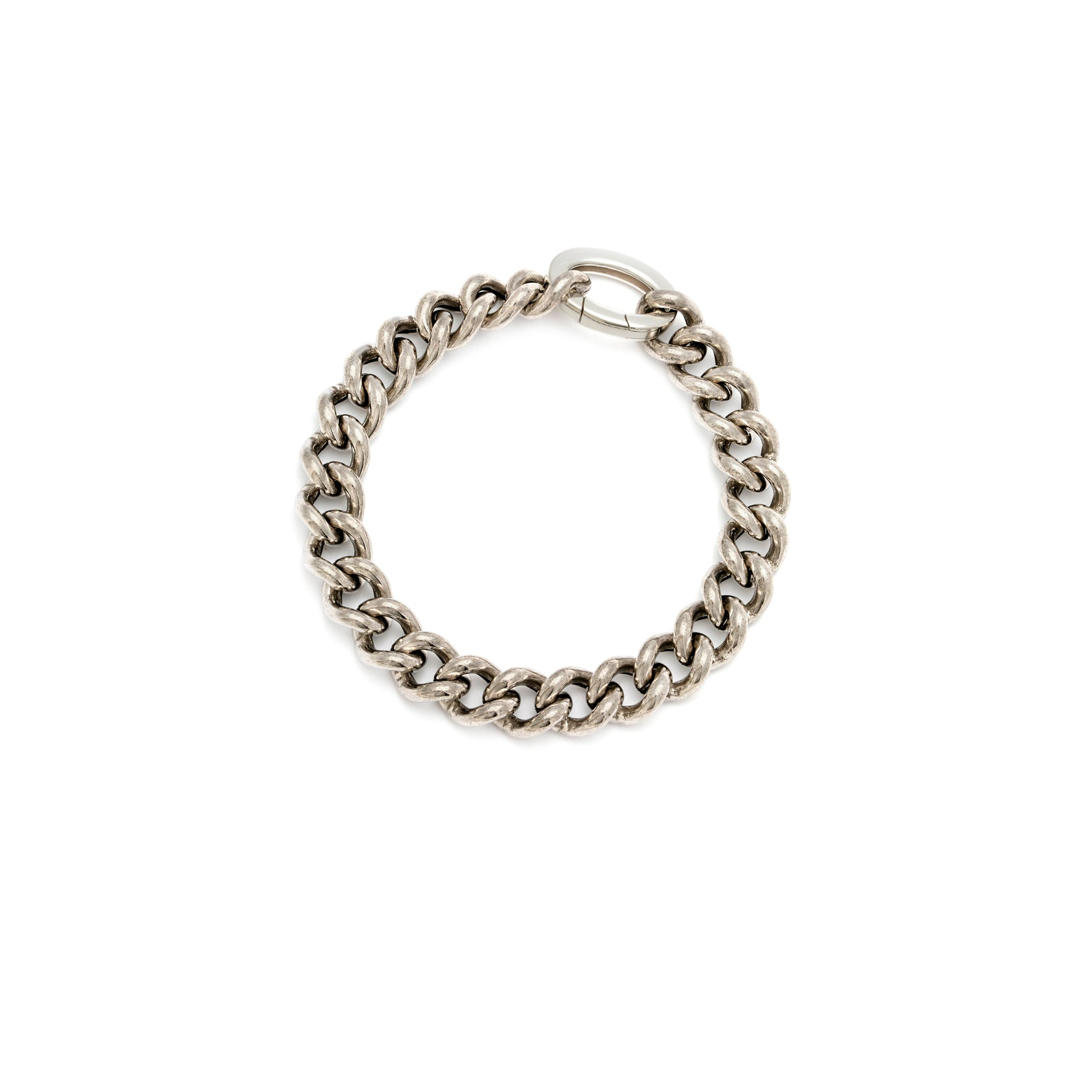 Luxe Heavyweight Curb Bracelet - Sterling Silver