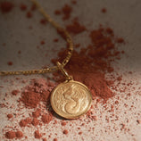Load image into Gallery viewer, Capricorn Pendant - Gold Vermeil