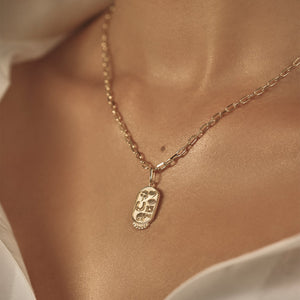 Staple Chain - 10k Solid Gold