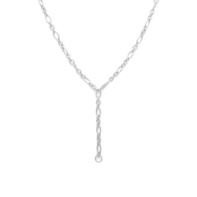 2 in 1 Luxe Rolo Chain - Sterling Silver
