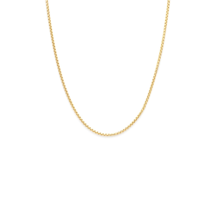 Thick Box Chain - Gold Vermeil