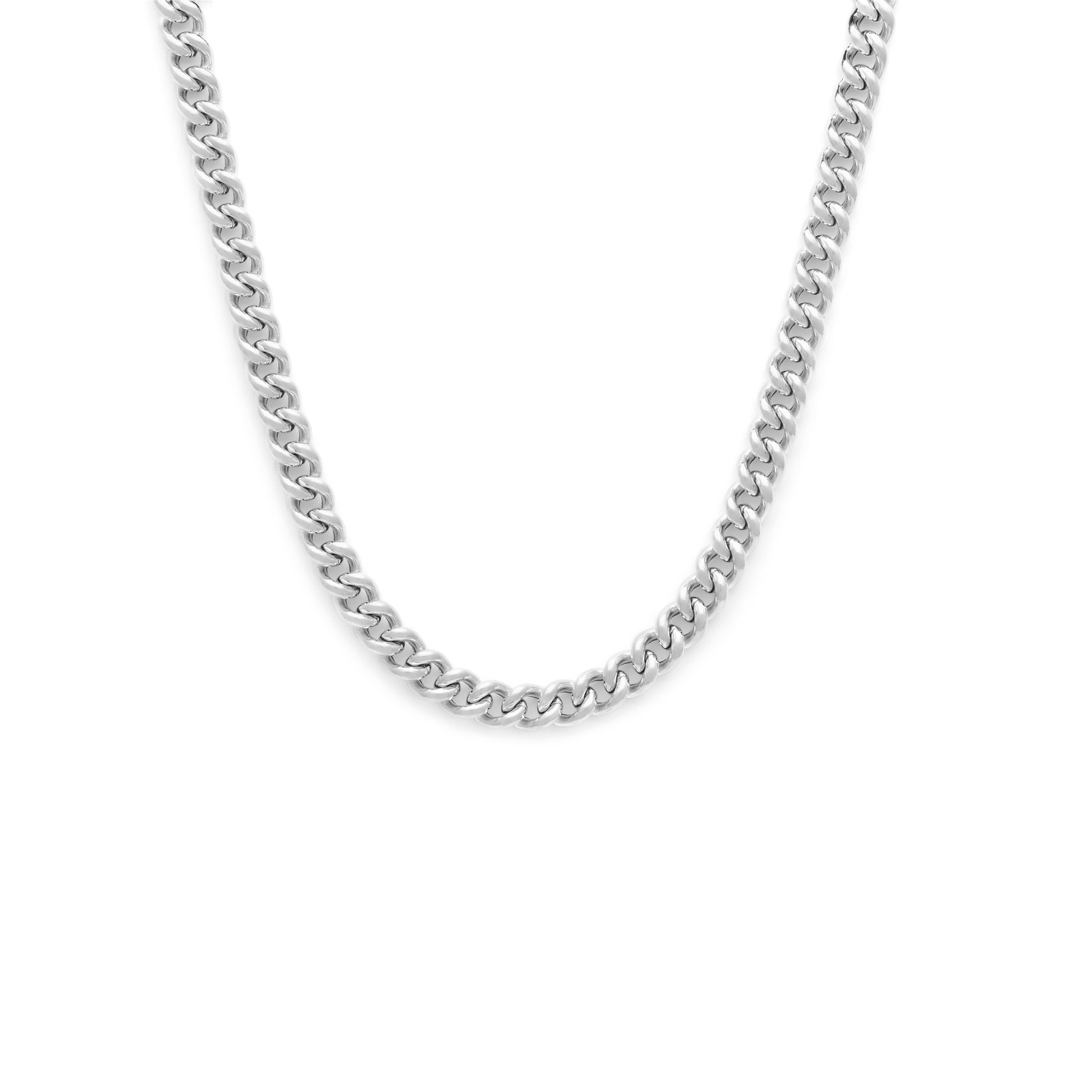 Heavyweight Curb Chain - Sterling Silver
