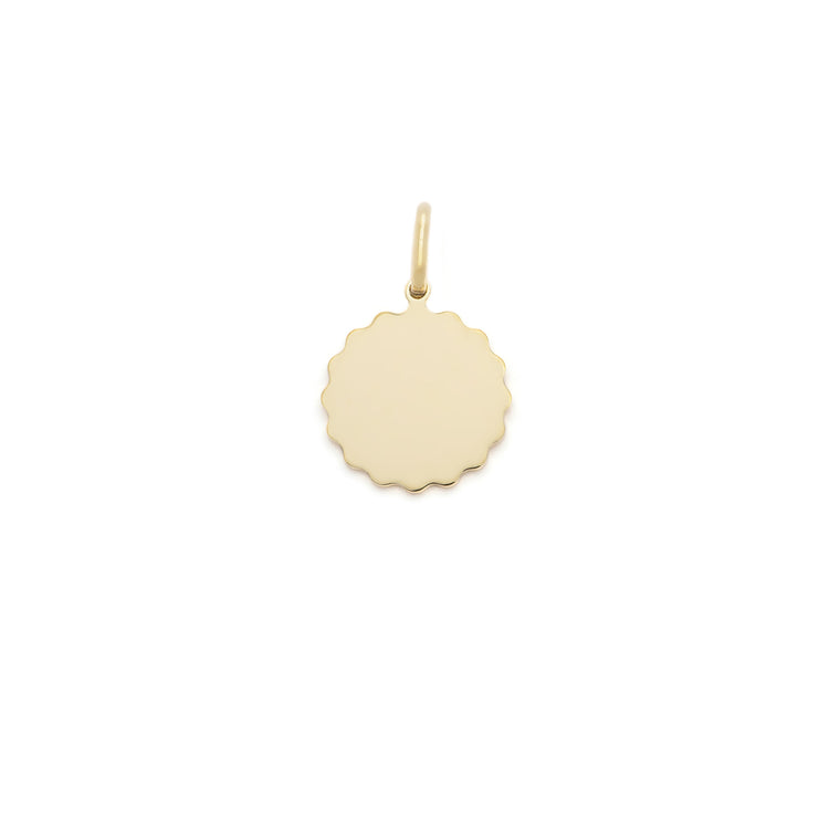 Dolce Vita Pendant - 10k Solid Gold