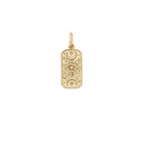 Load image into Gallery viewer, The Moon Tarot Pendant - 10k Solid Gold