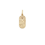 Load image into Gallery viewer, The Star Tarot Pendant - 10k Solid Gold