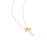 Load image into Gallery viewer, All About Love Charm Necklace - 10k Solid Gold