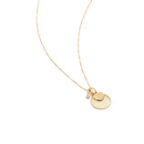 Load image into Gallery viewer, Watch Over Me Charm Necklace - 10k Solid Gold