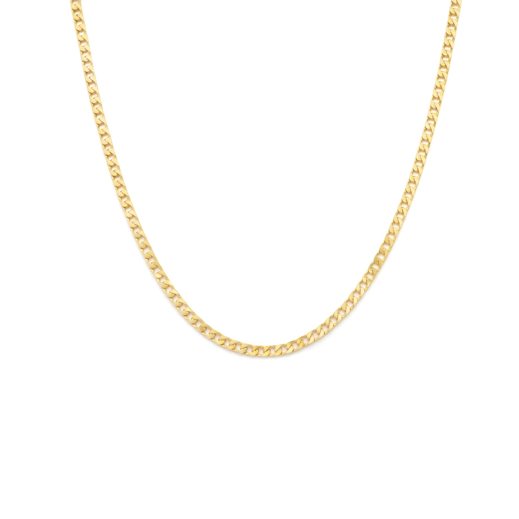 Men's Curb Chain - Gold Vermeil