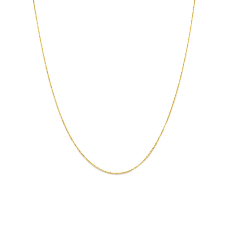 Thin Rope Chain - Gold Vermeil