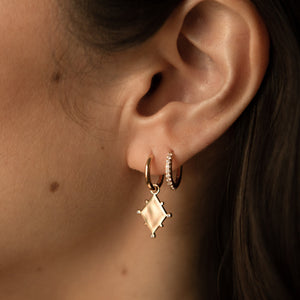 Single Constellation Earring Charm - Sterling Silver