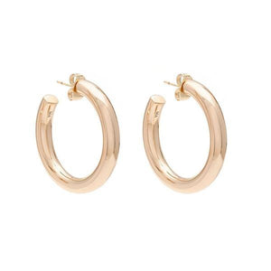 Mini Modern Hoops - Gold Vermeil