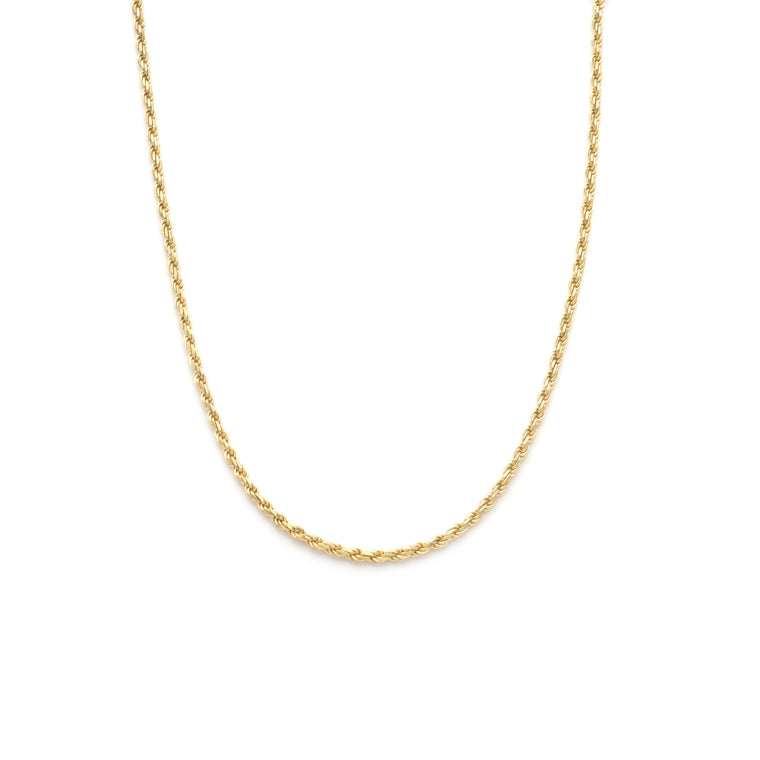 Medium Rope Chain - Gold Vermeil