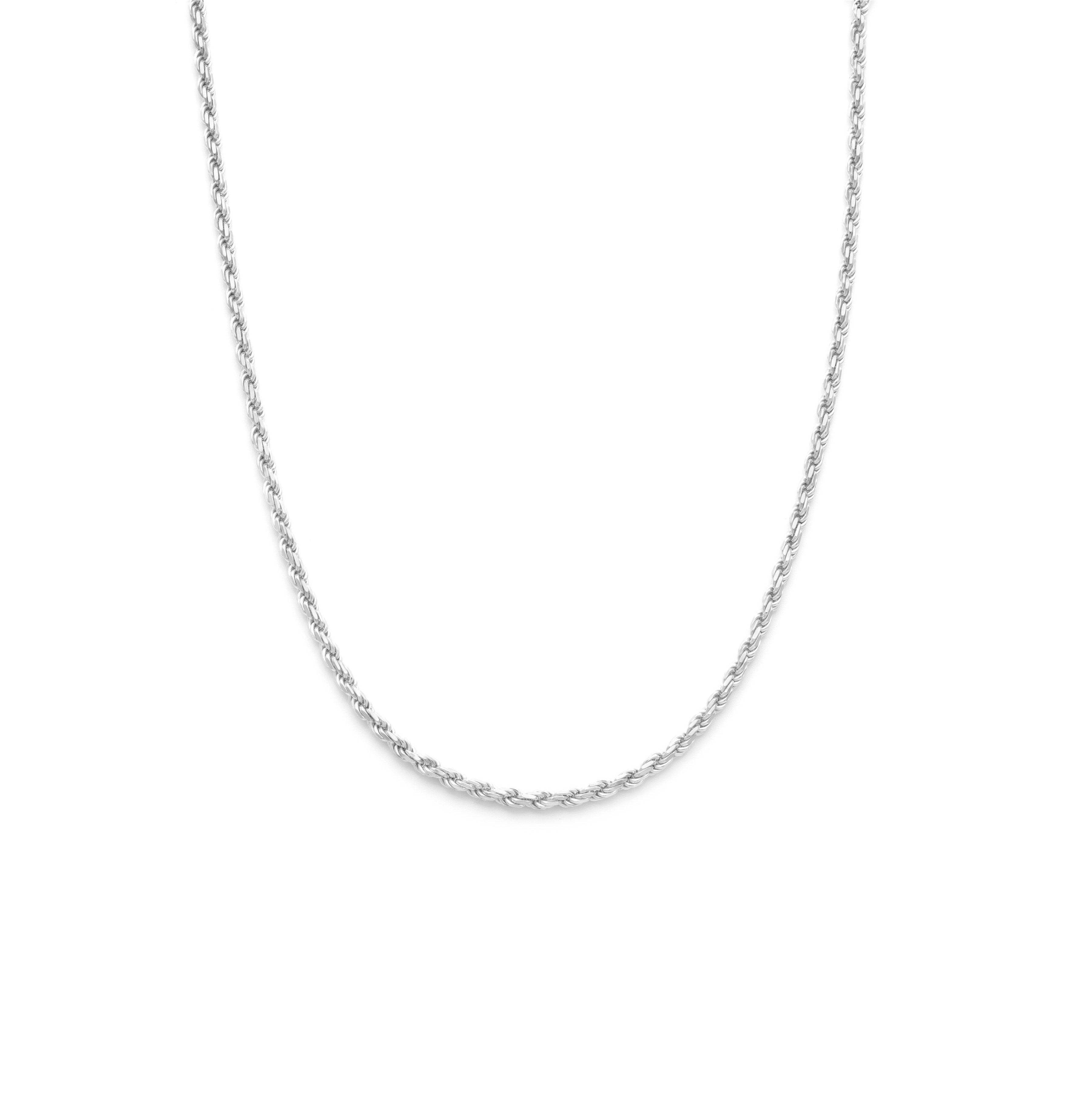 Medium Rope Chain - Sterling Silver