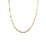 Load image into Gallery viewer, 4.5mm Herringbone Chain - Gold Vermeil