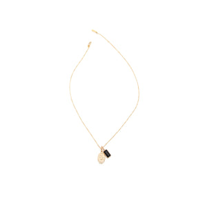 The Traveller's Charm Necklace - Gold Vermeil