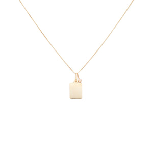Friendship Charm Necklace - 10k Solid Gold
