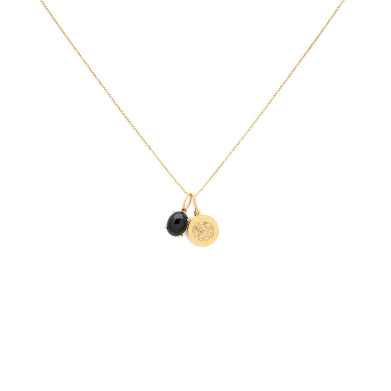 Alex Charm Necklace - Gold Vermeil