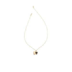 It's All Love Charm Necklace - Gold Vermeil