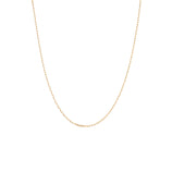 Load image into Gallery viewer, Delicate Staple Chain - 10k Solid Gold