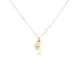 Load image into Gallery viewer, Eternal Love Charm Necklace - 10k Solid Gold