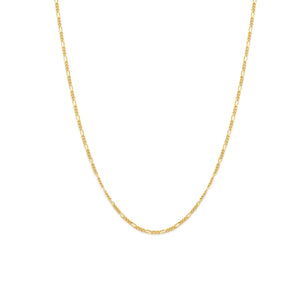 Thin Figaro Chain - Gold Vermeil