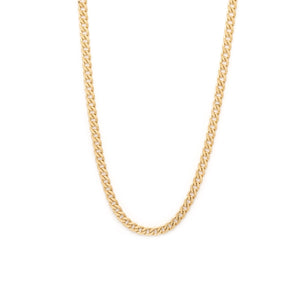 Thick Curb Chain - 10k Solid Gold