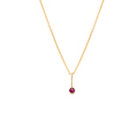 Load image into Gallery viewer, Coveted Ruby Pendant - 14k Solid Gold