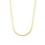 Load image into Gallery viewer, 3mm Herringbone Chain - Gold Vermeil