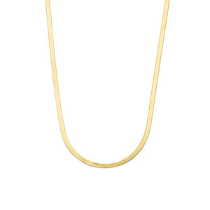 3mm Herringbone Chain - 10k Solid Gold