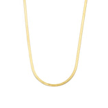 Load image into Gallery viewer, 3mm Herringbone Chain - 10k Solid Gold