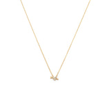 Load image into Gallery viewer, Heart & Arrow Necklace - 14k Solid Gold