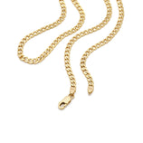 Load image into Gallery viewer, Men's Thick Curb Chain - 10k Solid Gold