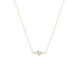 Load image into Gallery viewer, Serpent Necklace - 14k Solid Gold