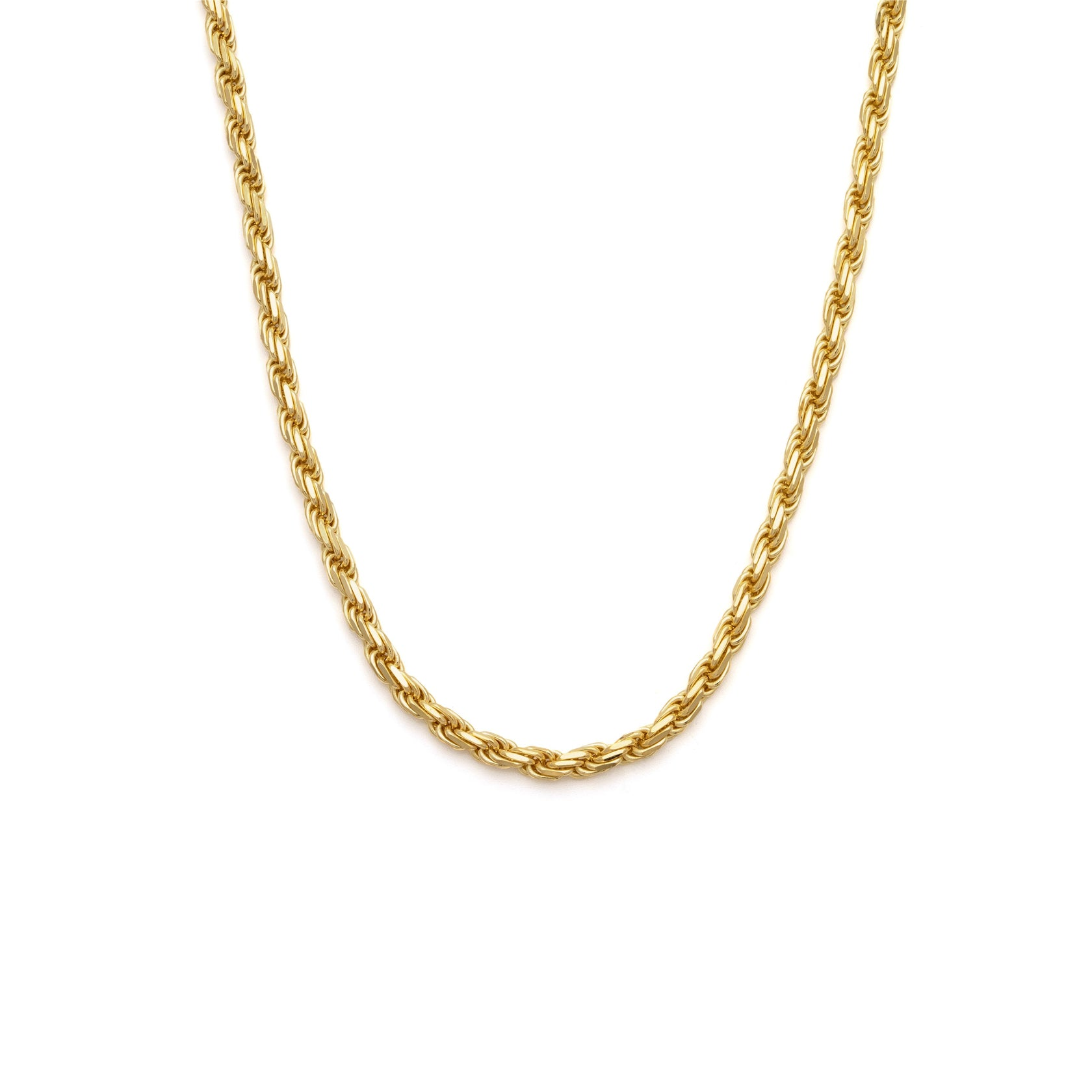 Thick Rope Chain - 10k Solid Gold