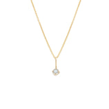 Load image into Gallery viewer, Moonstone Pendant - 14k Solid Gold