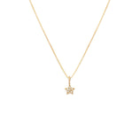 Load image into Gallery viewer, Pave Star Pendant - 10k Solid Gold