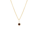 Load image into Gallery viewer, Garnet Pendant - 14k Solid Gold