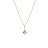 Load image into Gallery viewer, Aquamarine Pendant - 14k Solid Gold