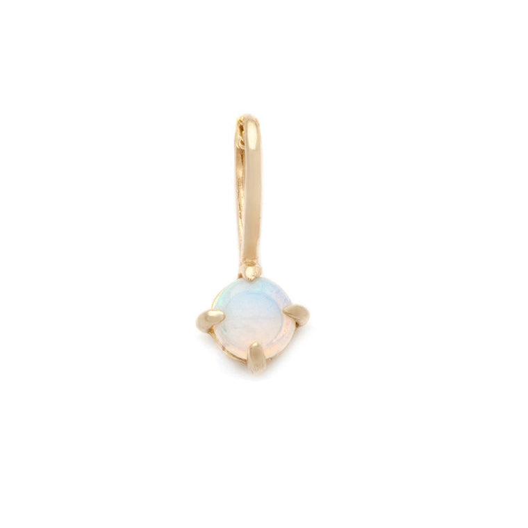 Opal Pendant - 14k Solid Gold