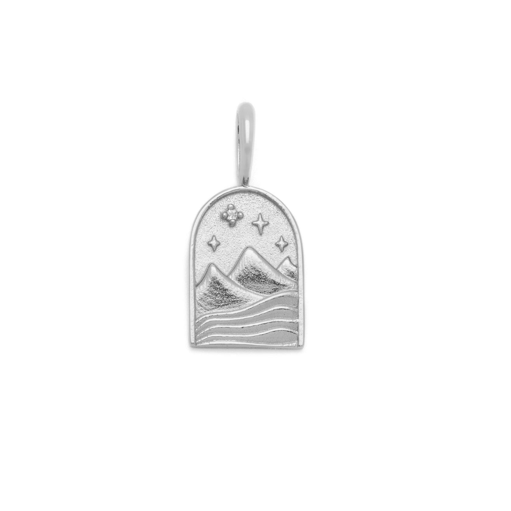 The Haven Pendant - Sterling Silver