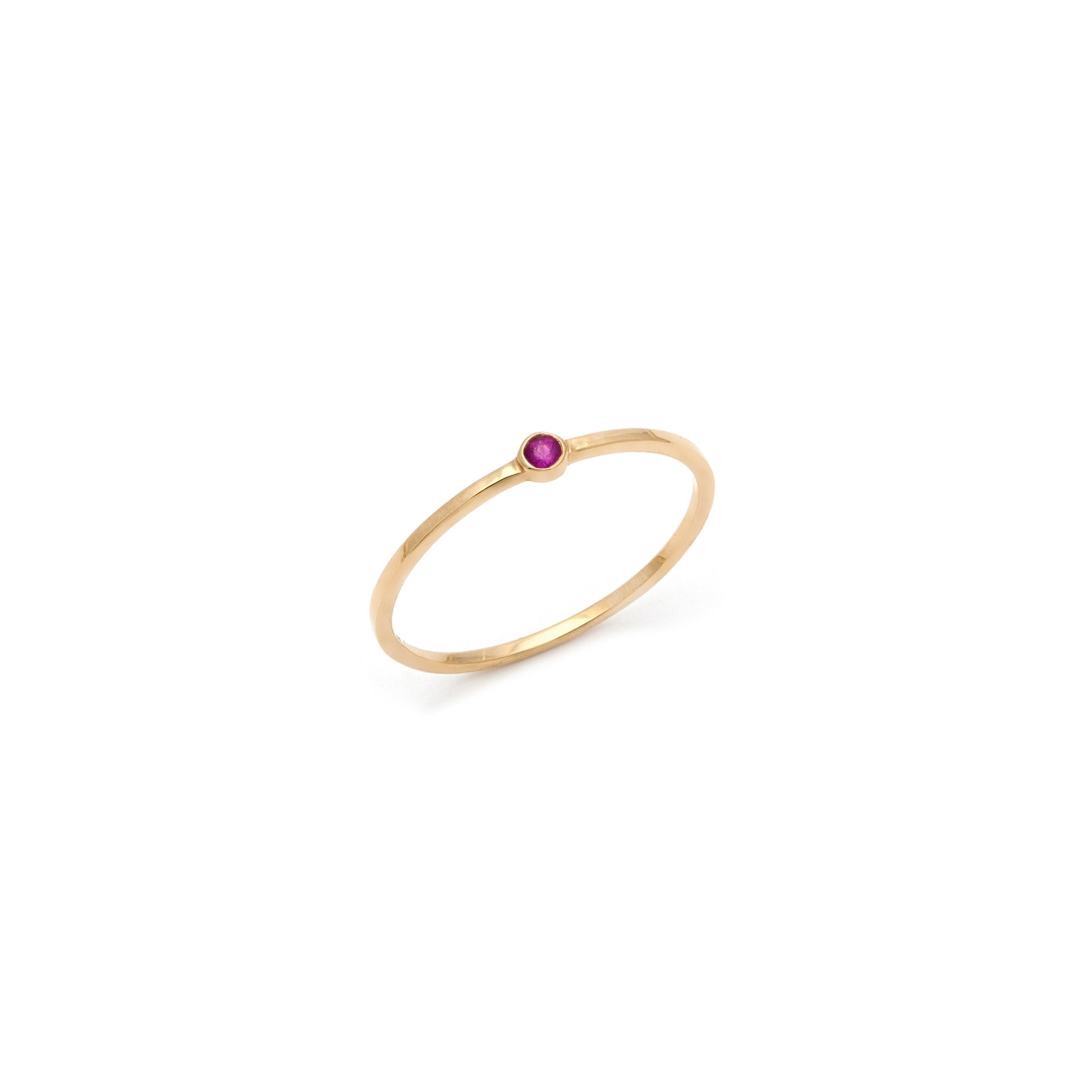 Coveted Ruby Ring - 14k Solid Gold