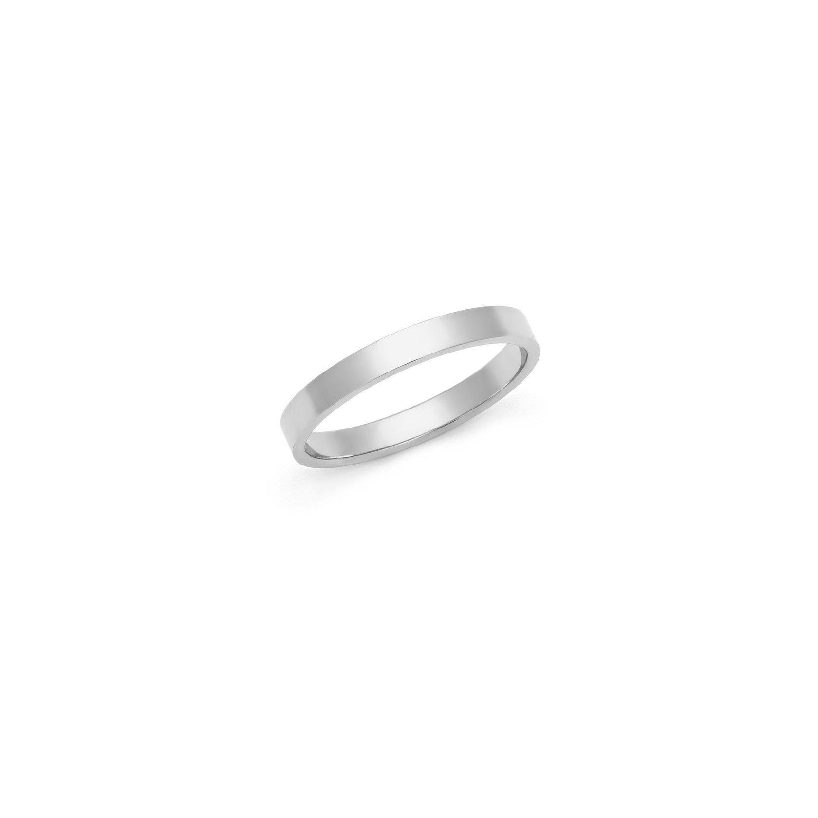 Thick Band - Sterling Silver
