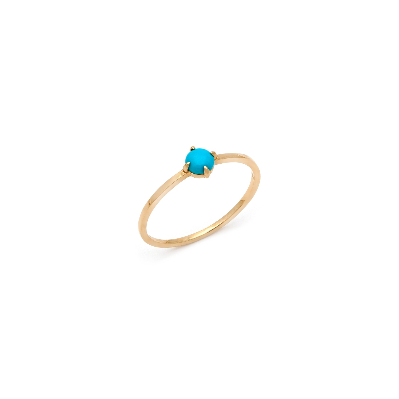 Coveted Turquoise Ring - 14k Solid Gold