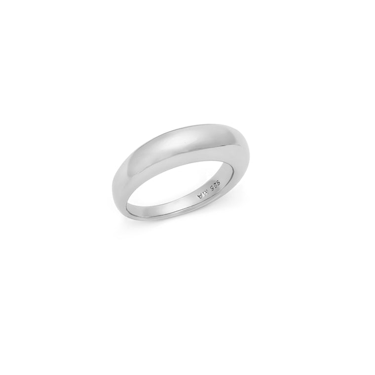 Curve Ring - Sterling Silver
