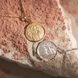 Load image into Gallery viewer, Sagittarius Pendant - Gold Vermeil