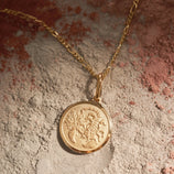 Load image into Gallery viewer, Scorpio Pendant - Gold Vermeil