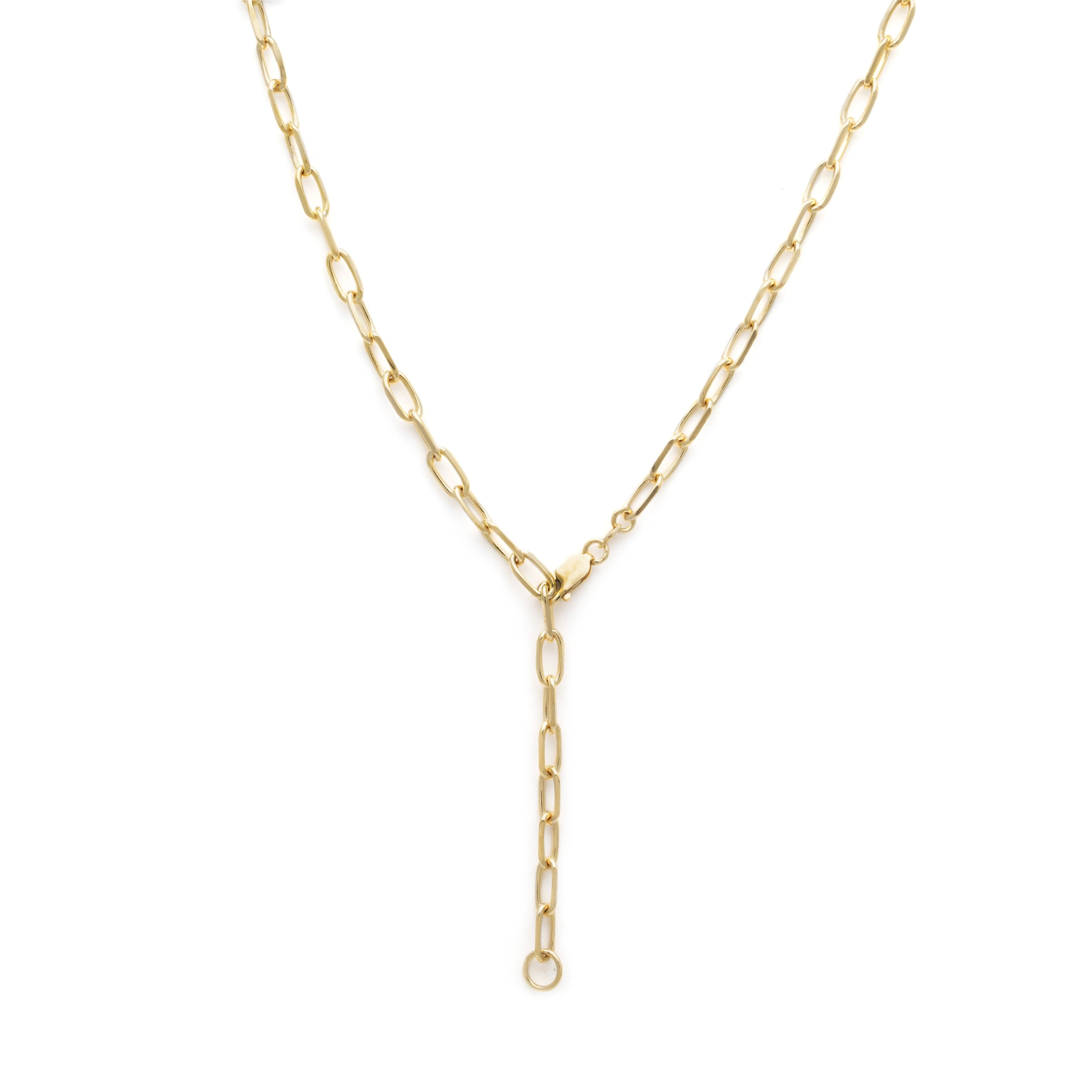 2 in 1 Thick Staple Chain - Gold Vermeil