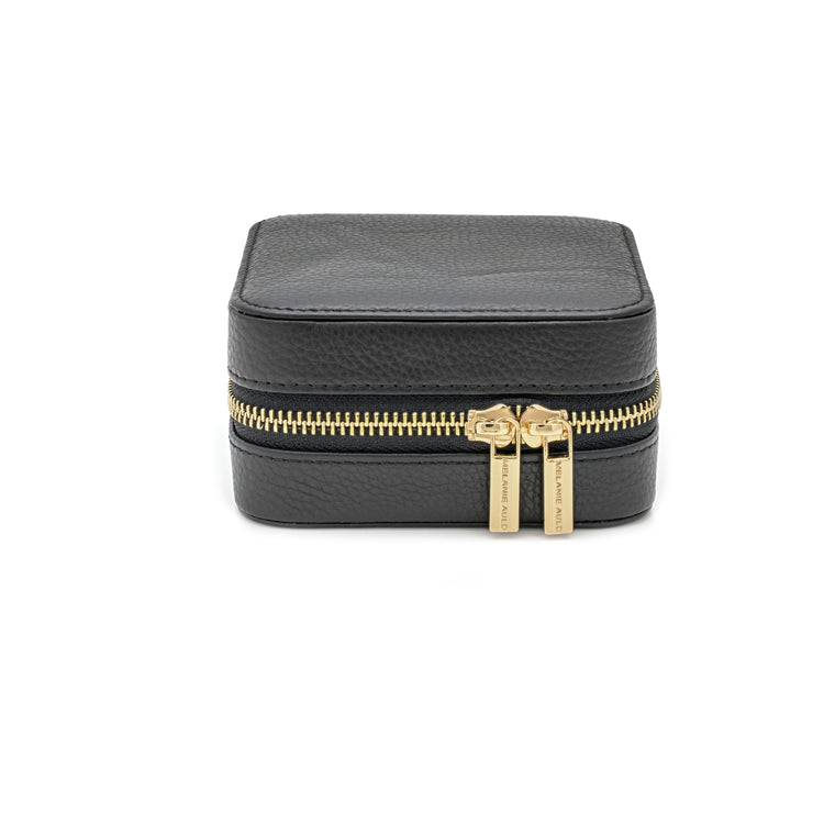 Leather Travel Case - Black